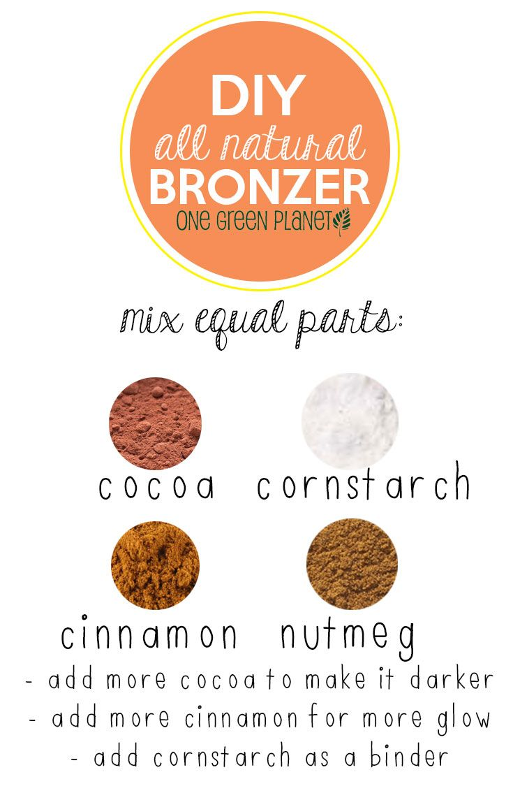 Get Glowing Now With This Super Easy, Chemical-Free, Money-Saving DIY Bronzer http://onegr.pl/VAY4jM #veganbeauty #diybeauty #cheap