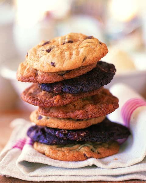 chocolate chunk cookies - Ina Garten Pinterest