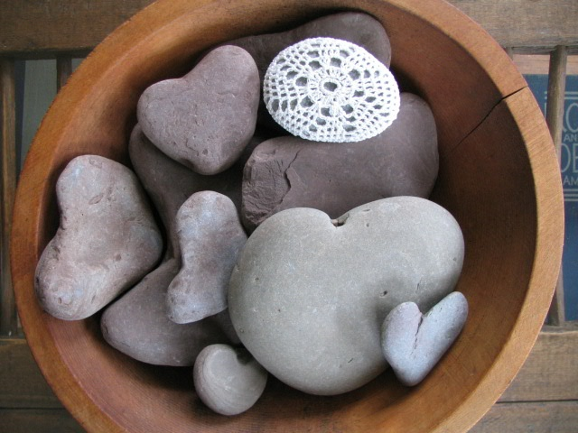 To collect heart shaped rocks. ♥