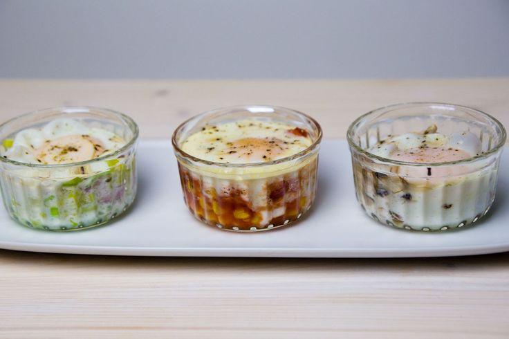 Rezept für Steamer und Dampfgarer: Würziges Ei im Glas.