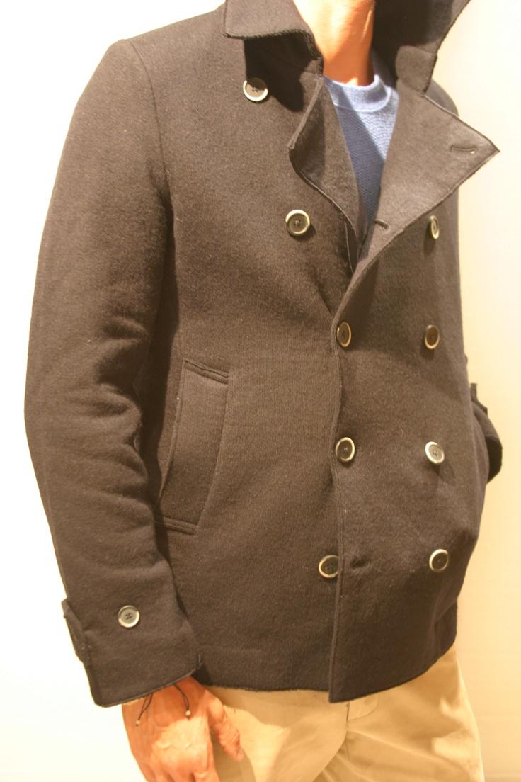 Peacoat jersey lana