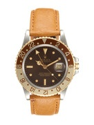 I want it!    Vintage Watches Rolex Stainless-Steel and Yellow Gold Oyster Perpetual GMT-Master (c. 1979)     Courtesy: parkandbond.com