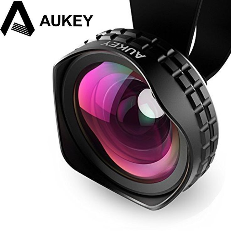 AUKEY Lens 18MM HD Wide Angle Optic Pro Lens Cell Phone Camera Lens Kit 2X for Samsung galaxy s8 iPhone Xiaomi HTC and more //Price: $25.96//     #electonics