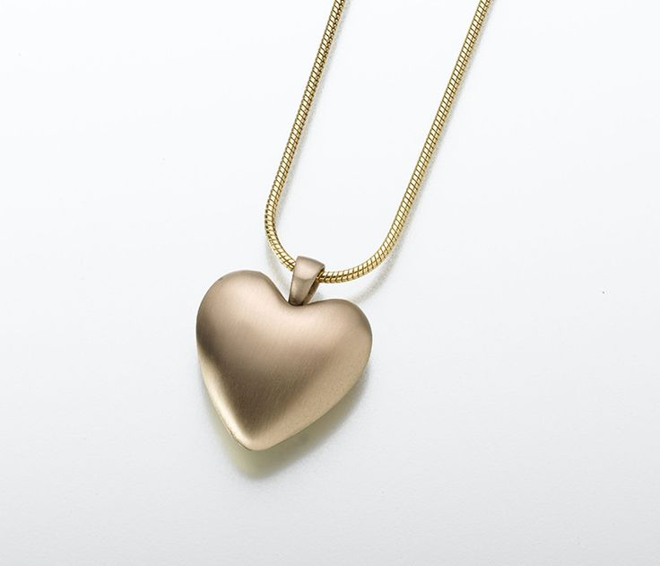 333 best cremation jewelry images on pinterest cremation jewelry bronze heart memorial necklace mozeypictures Choice Image
