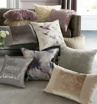 Cosy textures to transform your haven, all in cushion form!