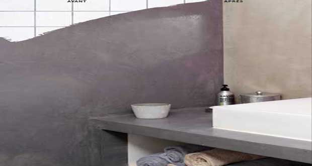 Les 25 meilleures id es de la cat gorie peinture effet for Peinture beton sur carrelage