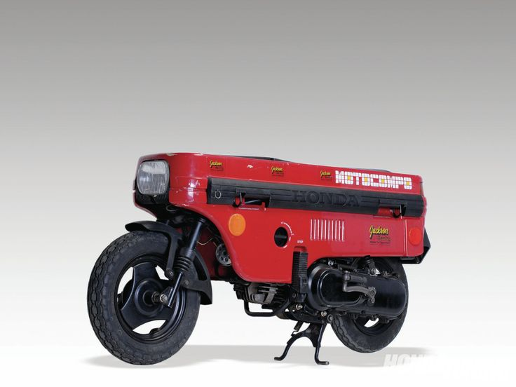 honda motocompo folding moped scooter