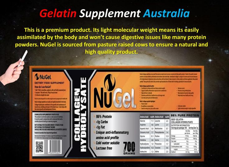 Gelatin Supplement Australia  If you are looking to get your hands on Gelatin…