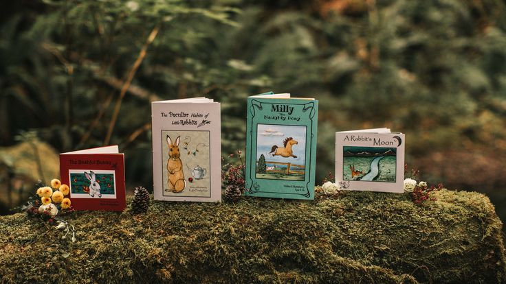 Beautifully handcrafted storybooks for young readers.