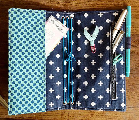 Midori Style Fabric Fauxdori PDF Sewing by goosekeeperdesigns