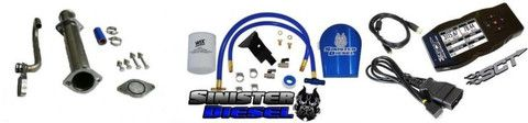 6.0L Ford Powerstroke EGR Delete, Coolant Filter, and SCT 7015 X4 Tune – Platinum Performance Parts | Diesel and Jeep Performance Parts and Accessories