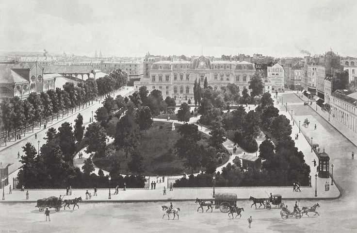Paris 3e - Square du Temple, ca. 1855–70 .