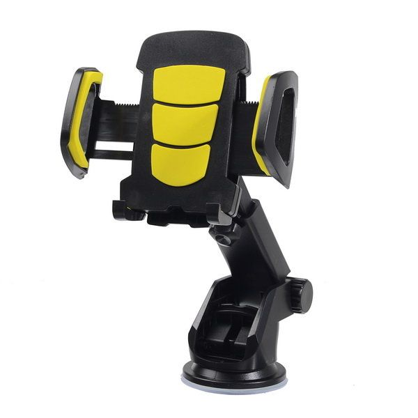 Bakeey™ 2 in 1 Multifunctional Phone Stand Suction Cup Car Air Vent Holder Bracket for under 6 inches Phone Sale - Banggood.com