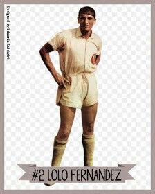 Lolo Fernandez of Universitario De Deportes & Peru 1939.