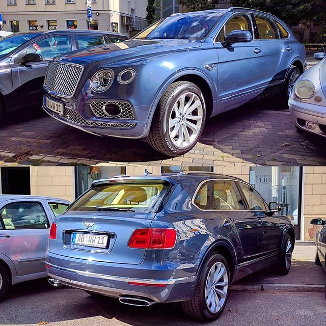 Bentley Luxury Car Inside: 1000+ Ideas About Bentley Suv On Pinterest