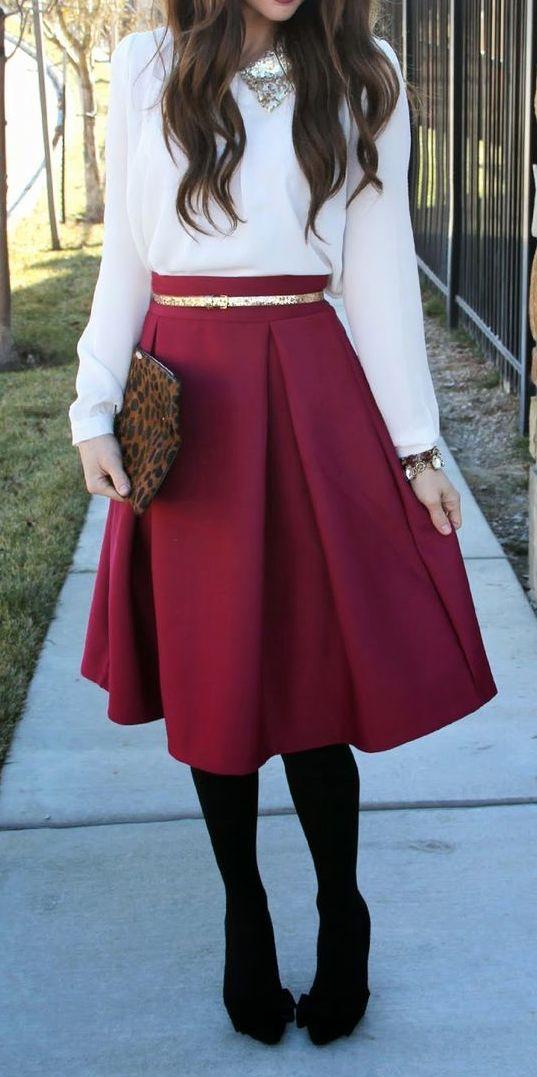 a-line midi skirt  http://rstyle.me/n/h6k7apdpe