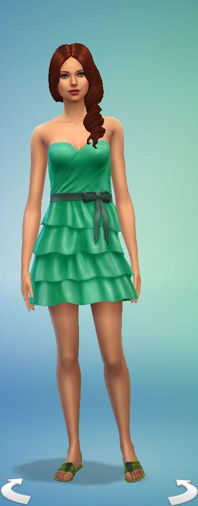 Cuerpo columna vestido