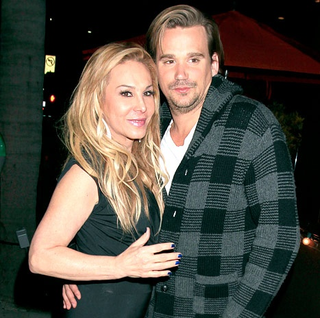 Adrienne Maloof spotted kissing and holding hands with Sean Stewart, the son of rock legend Rod Stewart on January 20, 2013.
