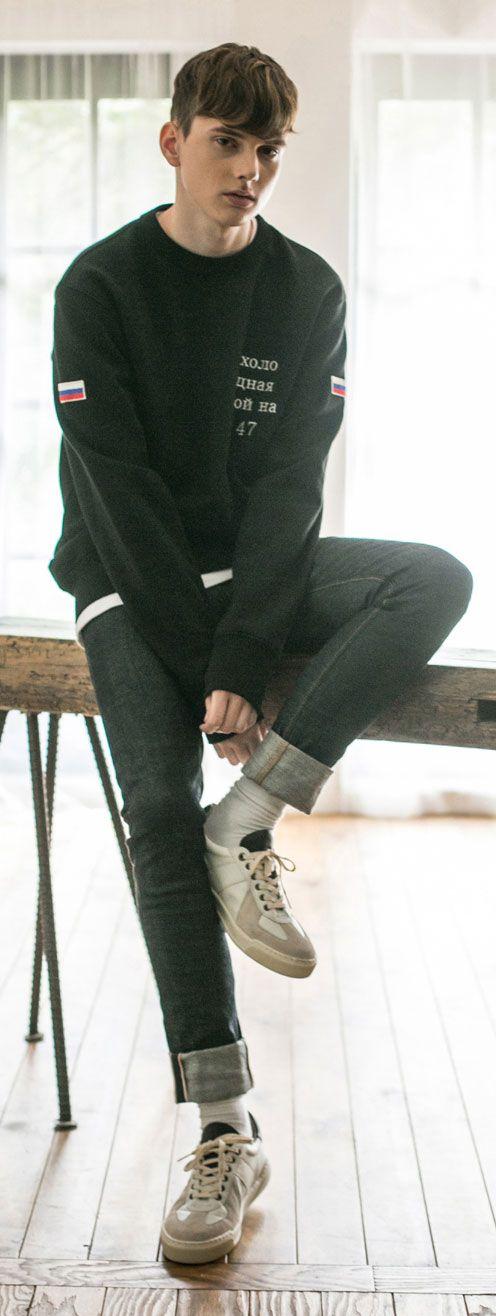 일본산 스판셀비지 데님팬츠, 입을수록 빈티지해지는 멋! 모델 181cm / 65kg / L size