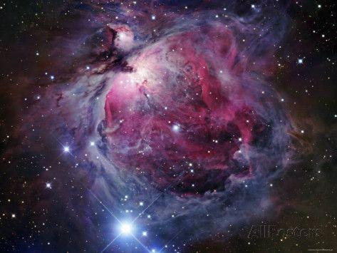 Der Orion-Nebel Fotodruck von Stocktrek Images bei AllPosters.de