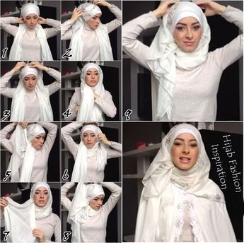 I personnaly admire every girl who keeps her hijab on for her wedding night, it adds her more beauty and what a best way to start a blessing life with your spouse,  This is a beautiful bridal hijab tutorial you can…