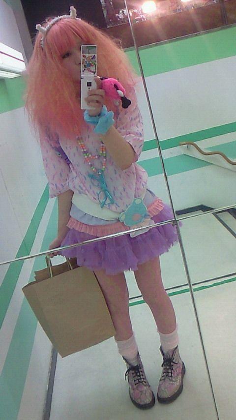 japanese girl on pastels