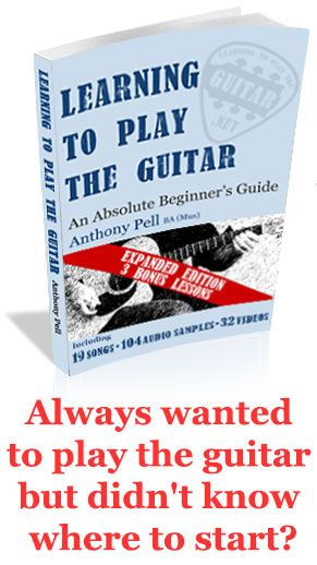 Always wanted to play the guitar but didnt know where to start?