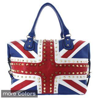 Oasis Handbag 'Gianna' Studded UK Flag Tote Review
