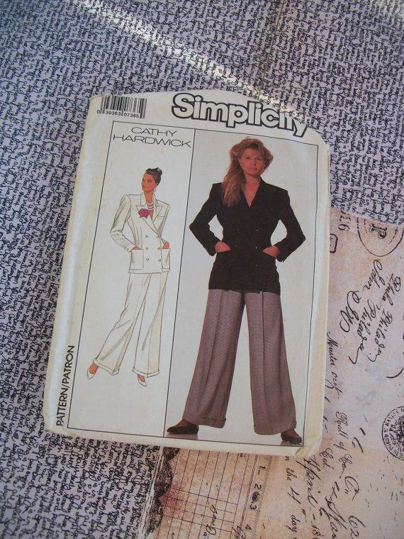 Vintage 1988 Simplicity Cathy Hardwick Misses by GadzooksGladys