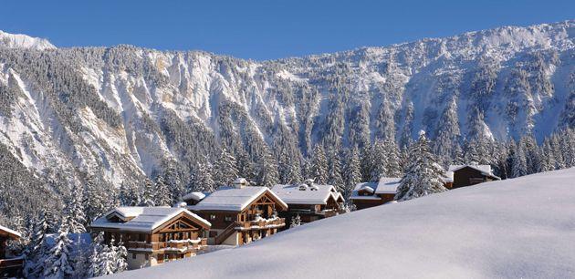 Iconic Courchevel 1850 - in the biggest ski area in the world  #winter #resort #ski #snow #Courchevel #1850