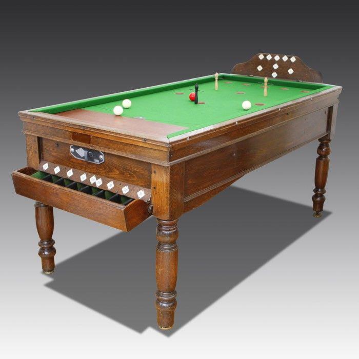 Jelkes Bar Billiards Table   The Games Room Company