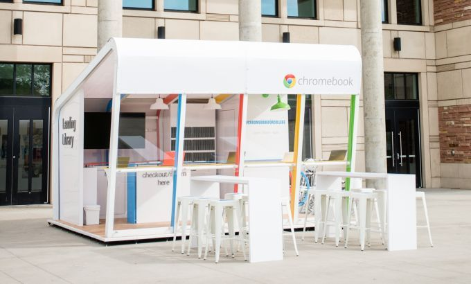 Google Chromebook Lending Library Coming to College Campuses this Fall  http://news.softpedia.com/news/Google-Chromebook-Lending-Library-Coming-to-College-Campuses-this-Fall-458768.shtml