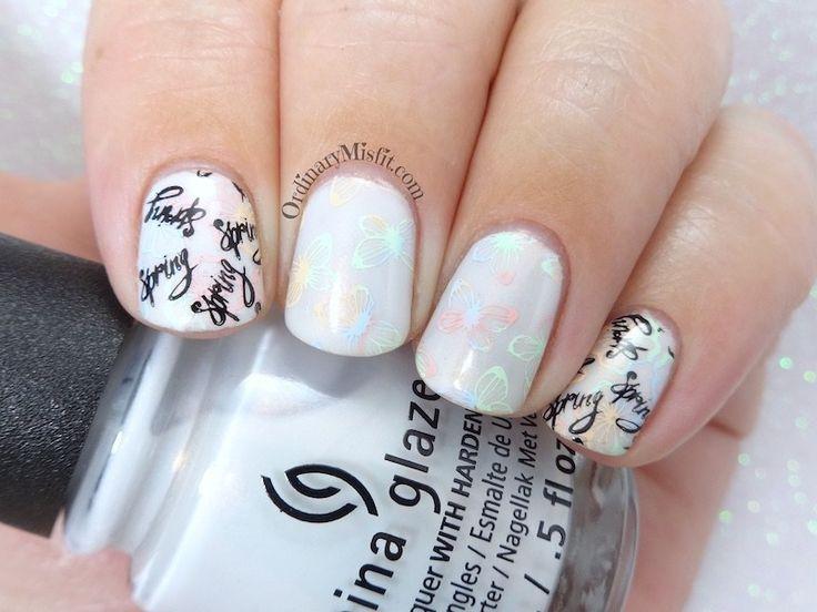 52 week nail art challenge - Week 36: Spring