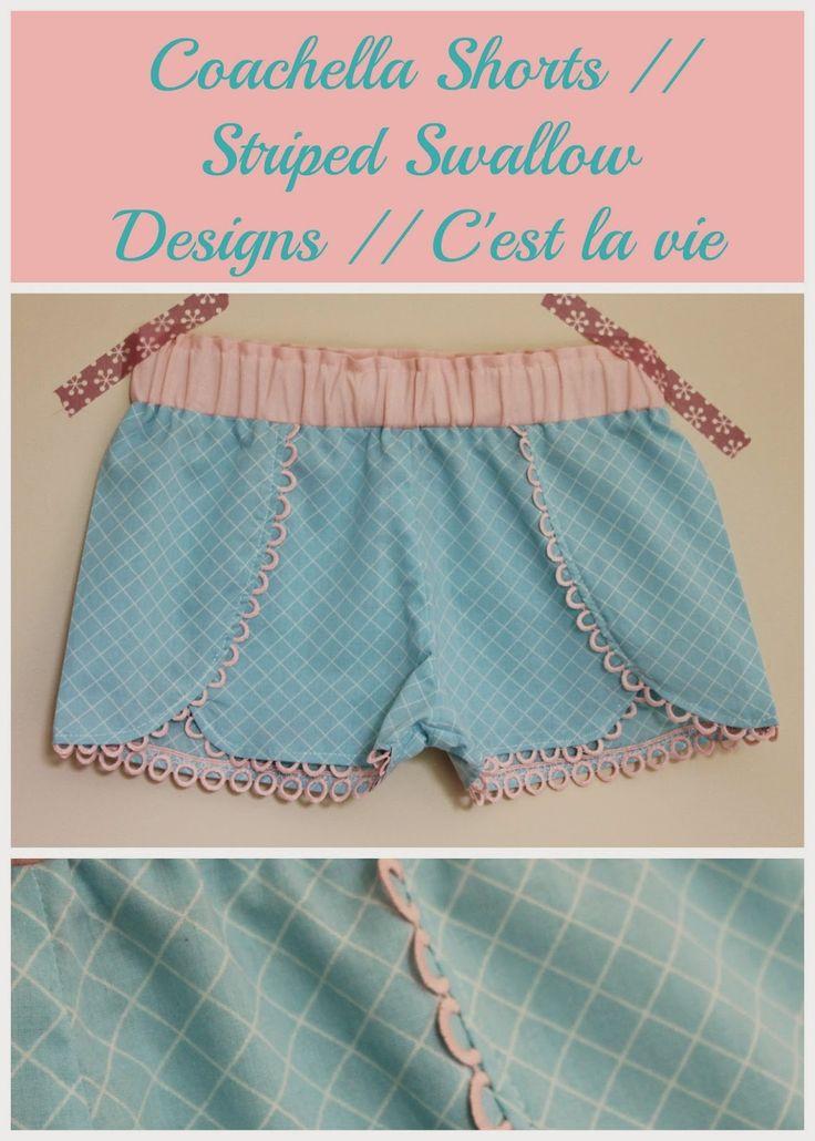 coachella shorts pattern