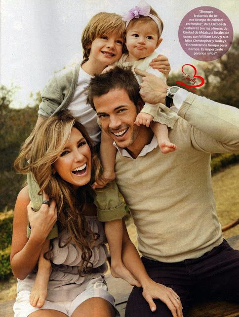 william levy and elizabeth gutierrez | La familia de William Levy y Elizabeth Gutierrez