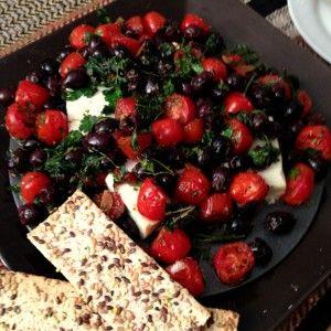 Baked Greek Salad