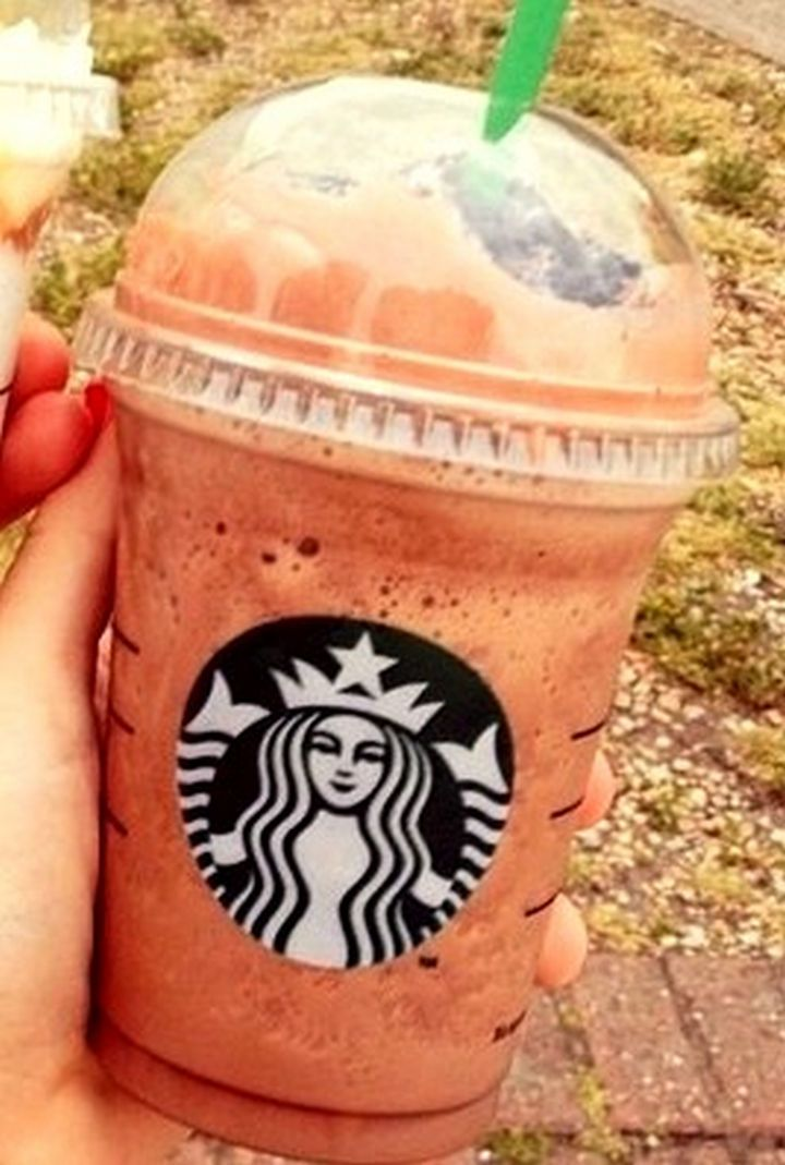Chocolate Chip Cookie Dough Frappuccino - 39 Starbucks Secret Menu Items You Didn't Know About Until Now
