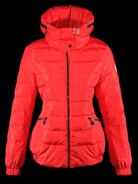 Cheap 2013 Womens Moncler Jackets Red