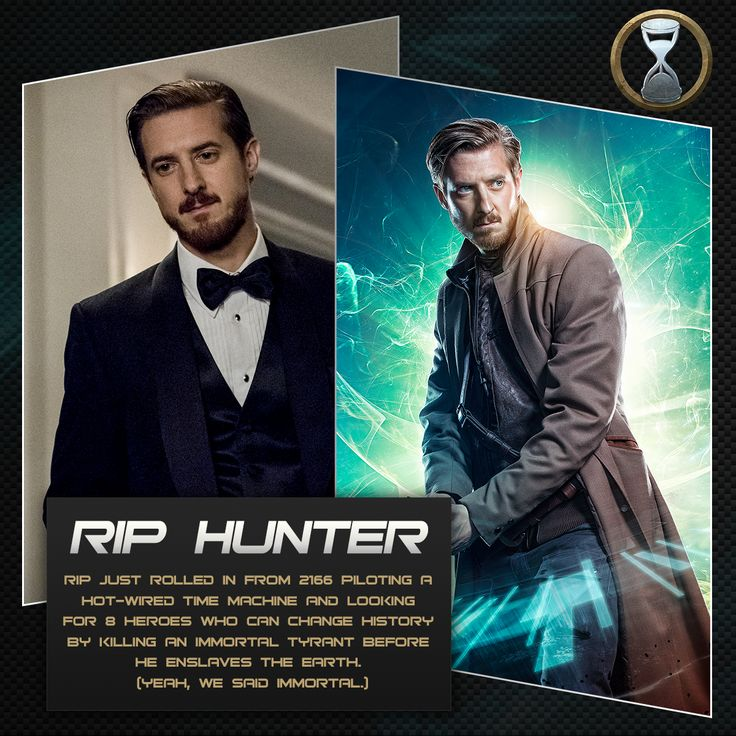 See Rip Hunter on a new DC's Legends of Tomorrow, Thursday at 8/7c. Catch up on the latest episode: http://www.cwtv.com/shows/dcs-legends-of-tomorrow/pilot-part-2/?play=7cb51127-65a2-4a16-a1c7-04a158c0599e