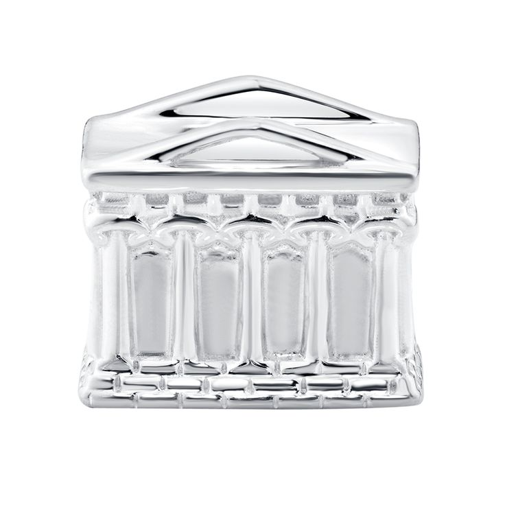 Sterling Silver Parthenon Greece Charm Jewellery