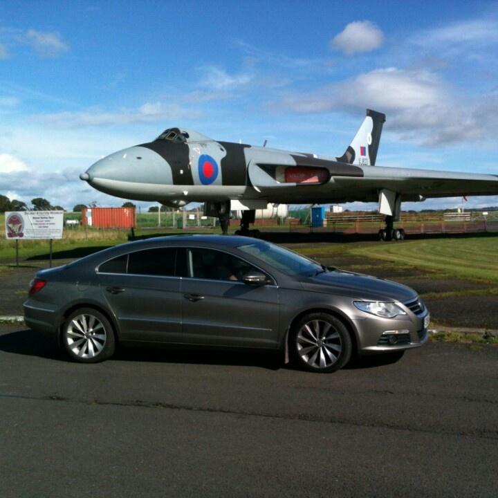 My car and a Vulcan