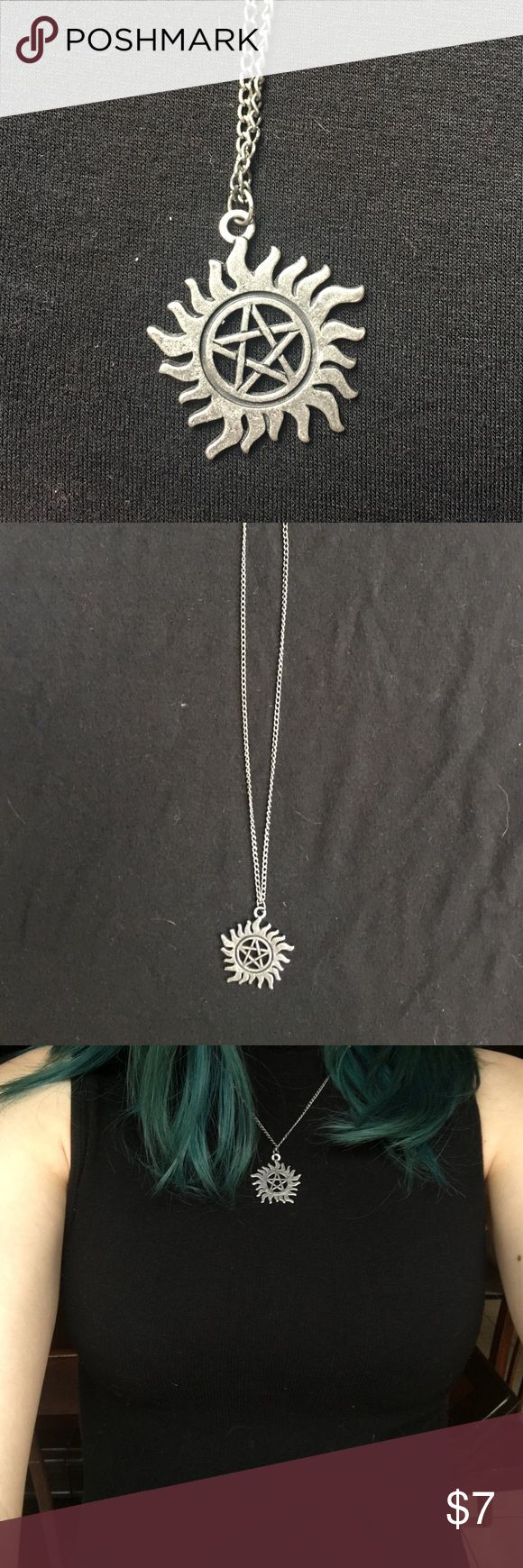 Supernatural necklace - Hot Topic Supernatural merchandise                                   Perfect condition                                                     Reasonable offers are encouraged! Hot Topic Jewelry Necklaces