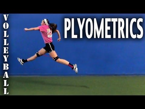 Volleyball Drills - Plyometric Exercises for Volleyball Players