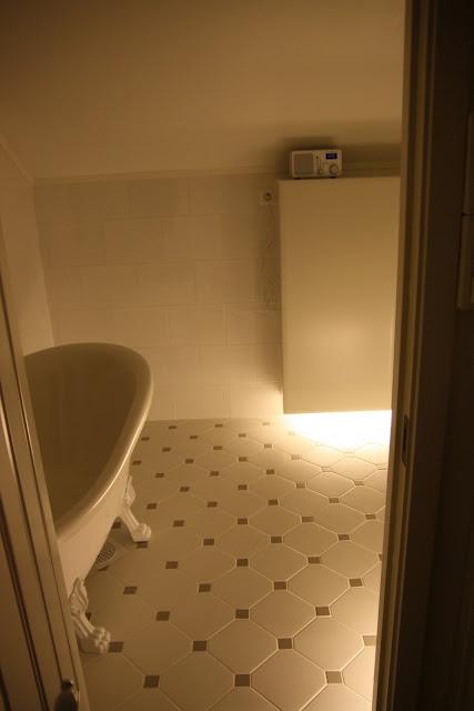 LED-nattlys på badet!