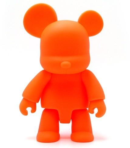 Qee 8'' Bear Orange Gid