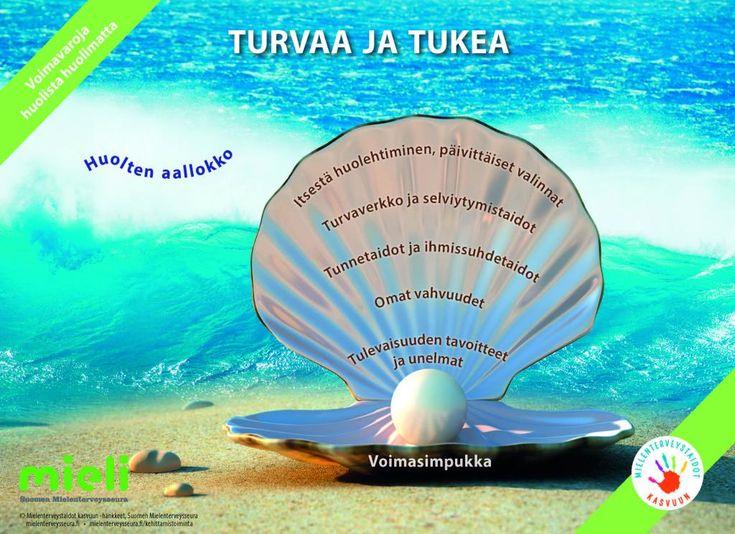 Voimasimpukka | Suomen Mielenterveysseura