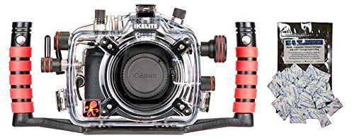 Canon EOS 70D Underwater DSLR Waterproof Camera Housing by Ikelite 6870.70