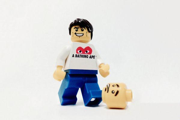 Bathing Ape X LEGO