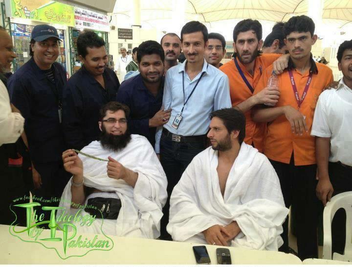 Boom Boom With Junaid Jamshed At Umrah