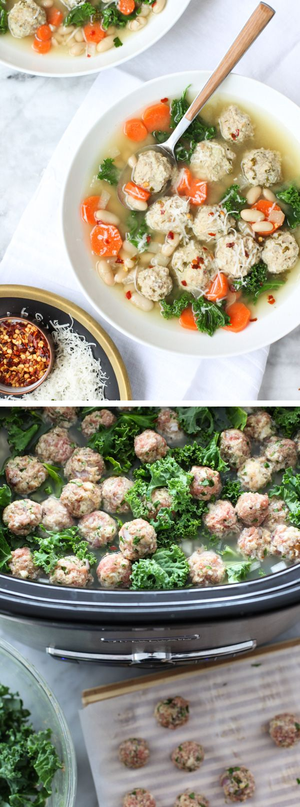 tote bag offer Kale  beans and mini turkey meatballs make this a filling  but healthy slow cooker dinner for any day of the week